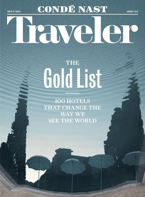 January 2015 Conde Nast Traveler (PRNewsFoto/Conde Nast Traveler)